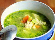 Supa sa pirincem i spanacem