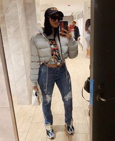 Best Picture For urban fashion streetwear dope outfits For Your Taste You are looking for something, Cute Swag Outfits, Chill Outfits, Dope Outfits, Trendy Outfits, Fashion Outfits, Insta Outfits, Swag Fashion, Tomboy Outfits, Dope Fashion
