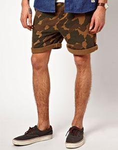 Image 1 ofSuit Chino Jersey Camo Shorts