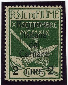 Reggenza 2 l./5 c. senza emblema al verso (144t).