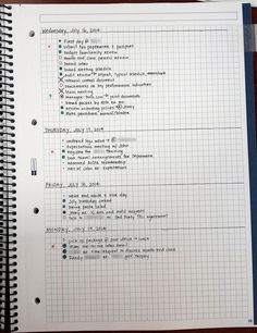 Great-looking bullet journal page. Ample real estate for sudden additions and modifications of tasks, plus simple and achievable goals set for each day.