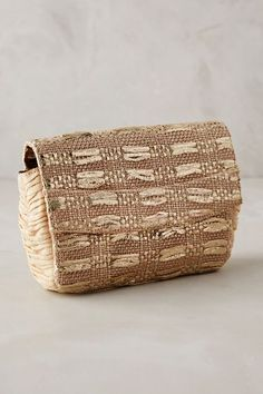 Maria La Rosa Delhi Clutch - anthropologie.com #anthroregistry
