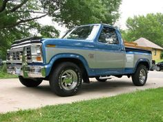 1984 Ford 150 SS Love this! sold mine recently. I will miss it but looking for an older one to fix up now.