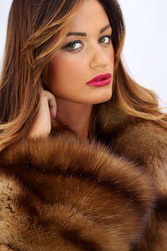 Tortora Dyed Sable Fur Jacket