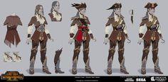 Concept by Evgeniya Egorova Warhammer Fantasy, Warhammer Art, Character Concept, Character Art, Concept Art, Character Design, Character Ideas, Fantasy Armor, Medieval Fantasy