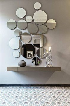 Modern Mirror Design for Living Room. Modern Mirror Design for Living Room. 15 Fascinating and Exceptional Modern Mirror Designs Decoration Hall, Entryway Decor, Entryway Mirror, Apartment Entryway, Entrance Hall Decor, Beautiful Decoration, Main Entrance, Decor Room, Living Room Decor