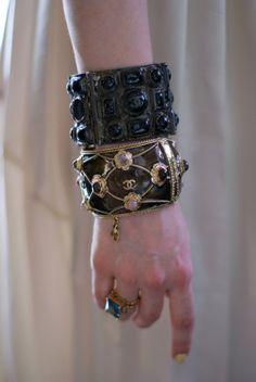 pointofblake:  Chanel Bracelets