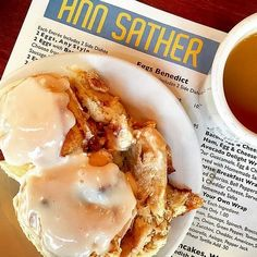 """Ann Sather Restaurant :: """"If you are in Chicago and haven't had a cinnamon bun here, all I have to say is…for shame!"""" 