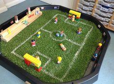 Tuff Tray, Small World, Poker Table, Activities, Furniture, Classroom, Home Decor, Play, Ideas