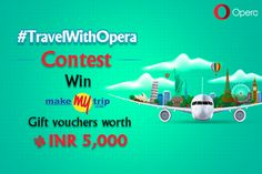 Guys! Our #Giveaway with Opera is still ON! Participate to Win Rs. 5K worth gift vouchers - http://igw.link/2dk08Iz