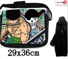 One Piece Zorro Zoro Anime Manga Tasche Tragtasche Messenger Bag 36x29cm Neu