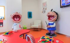 Waiting area dental theming by Imagination Dental Solutions