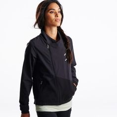 Moto Track Jacket | Oiselle Running Apparel for Women | Oiselle Running Apparel for Women. $92