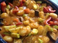 Gnocchi Gemüse Pfanne (WW tauglich) Gnocchi vegetable pan (WW fit) from A Thermomix ® recipe from the main course with vegetables category www.de, the Thermomix® Community. Mexican Dinner Recipes, Sicilian Recipes, Best Dinner Recipes, Vegan Breakfast Recipes, Ww Recipes, Greek Recipes, Lunch Recipes, Pasta Recipes, Olive Garden Chicken Gnocchi