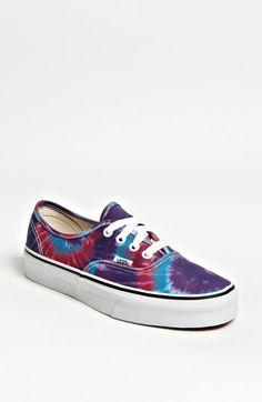 Vans 'Authentic - Tie Dye' Sneaker (Women) available at #Nordstrom