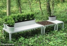 Mobilier à jardiner, design 5.5 Designers.