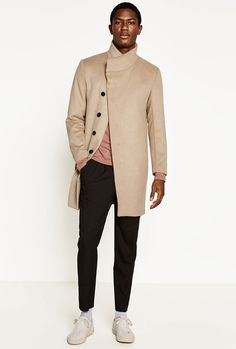 The Biggest Style Moments Of 2019 #footwear #beige #clothing #outerwear #sleeve #collar #fashion #gentleman #overcoat #coat