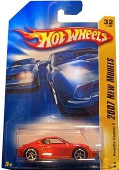 Hot Wheels 2007-032/156 First Editions 32/36 RED Porsche Cayman S 1:64 Scale