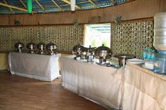 Buffet facility at United-21, ‪Sunderbans‬. So what would you like to have?