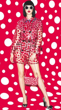 fa2029141d5 Clear red spotty mac new launch at Louis Vuitton