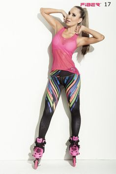 "These leggings are designed to regulate body temperature to keep you comfortable during any workout! Beautiful leggings with a cool multicolored pattern and ""Crossfit Endurance"" written down the leg.  Material is Polyester/Elastane which is extremely flexible, fade resistant, holds shape, lighter weight, quick drying, wash durability and resists wrinkling. Wide waistband engineered to provide ample support and comfort with a low rise waist Approximate inseam for sizing is 24″ One size fits…"