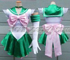 Sailor Jupiter cosplay costume Sailor Moon Costumes Lita dress f, Sailor Moon Cosplay Costumes, Cosplay Costumes