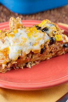 Layered Mexican Casserole   Layered Mexican Chicken Casserole   !Slow ...