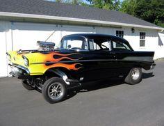 Gasser 57 Chevy