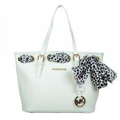Best Michael Kors Jet Set Scarf Large White Totes Popular In The World