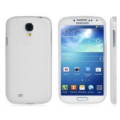 Gel TPU White Samsung Galaxy S4 Case
