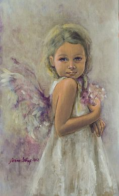 From Heaven... by dorina costras This echoes the poses I see so often in my granddaughters.