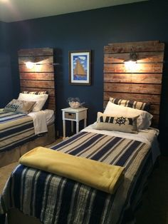 51 Astonishing Bedroom Design Ideas For Boys. In the earlier days, the boys bedrooms used to be a down version of bedroom of an adults. However, times have changed and now the boys rooms can also be c. Boys Bedroom Furniture, Home Decor Bedroom, Modern Bedroom, Furniture Ideas, Diy Bedroom, Rustic Furniture, Furniture Stores, Bedroom Wall, Lego Bedroom