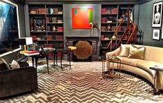 Juan Carretero library for Sotheby's 2015 Designer Showhouse