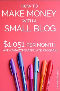 Do you have a small blog and are looking to monetize? This e-book will teach you how to make $1000 with Amazon affiliates. Click to get your copy now! #affiliate #makemoneyfromhome #amazon #makemoney #workfromhome | Work from home | How to make money from home | How to make money with a small blog