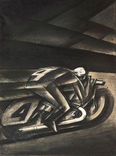iArt — Mario Sironi (1885–1961), Uomo nuovo / New man,...