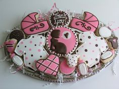 Baby Shower Thank-you! by East Coast Cookies, via Flickr