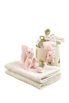 Pearl the Squirrel and Forest Friends Woodland Gift Set on HauteLook
