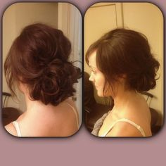 Romantic Soft and loose updo