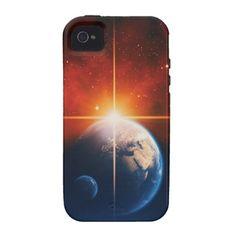 earth iPhone 4 cover