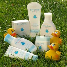 a set of eco-friendly, vegan, cruel. a set of eco-friendly, vegan, cruelty-free & phosphate-free baby care products from Live Clean Baby Best Baby Bath Products, Cruelty Free Baby Products, Free Products, Baby Baby, Lotion, Baby Live, Soothing Baby, Vegan Baby, Newborn Essentials