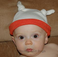 Sewing Tutorial: Knotted Baby Hat