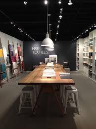 HBF Textiles showroom at Neocon Kitchen Showroom, Tile Showroom, Lighting Showroom, Showroom Design, Furniture Showroom, Furniture Layout, Plywood Furniture, Home Decor Furniture, Interior Design