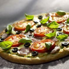 PIZZA XXL - Kuchnia Lidla Lidl, Vegetable Pizza, Vegetables, Recipes, Food, Drink, Inspiration, Biblical Inspiration, Beverage