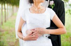 #rings #hands #bride #dress #groom #trees #wedding