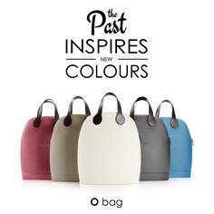 #Obag '50, la borsa a bauletto dalla forma retrò, è già un cult!  La #handbag ispirata agli anni cinquanta vive una nuova era e si colora di avorio, roccia, ottanio, marsala e vulcano.  ------------ Scoprila in esclusiva SOLO nei negozi O bag. #limitededition