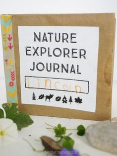Make a simple nature explorer journal to take as you explore the great outdoors!