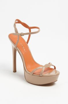 Via Spiga Heavenly Sandal in Beige (end of color list nude patent) | Lyst