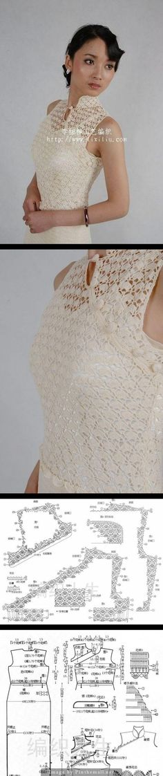 Crochet top.  http://www.liveinternet.ru/users/djona63/post329032309/ - created via http://pinthemall.net