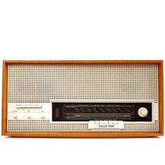 Horst Giese [attrib.] – radio ‹halle 5120›   stern-radio sonneberg   1963