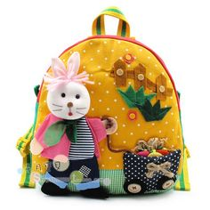 Backpacks, bags for kids. Many beautiful ideas!